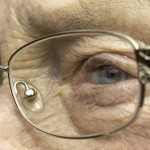 Older person wearing Varifocals