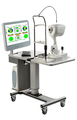 OCT 3D Retinal Scanning Technology