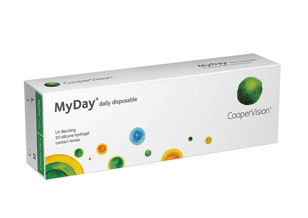 MyDay daily disposable lenses