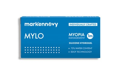 Markennovy Mylo Contact Lenses for myopia management